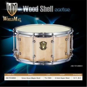 World Max AM7014MSH Maple Shell - werbel